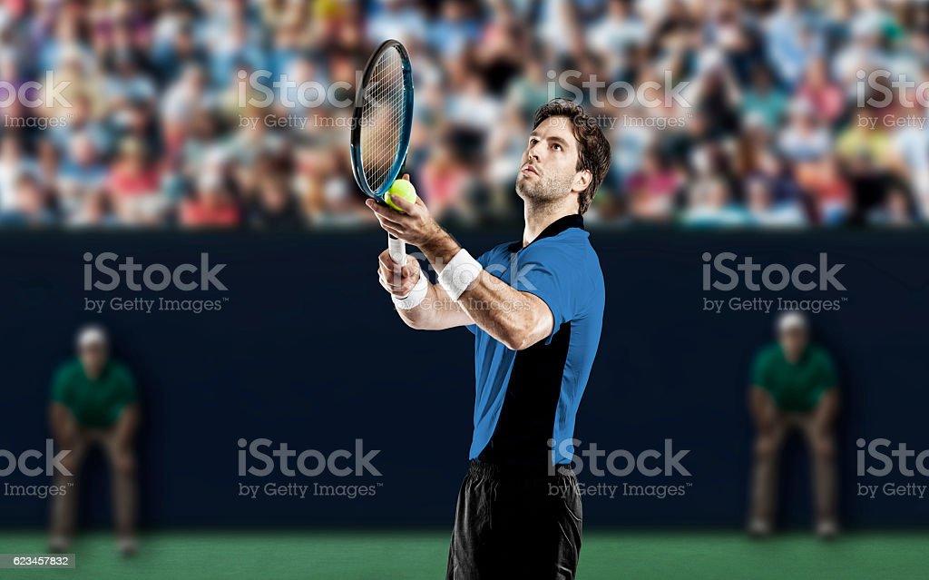Tennis Player. stock photo