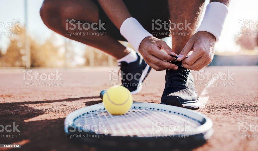 Tennis player. Sport, recreation concept stock photo