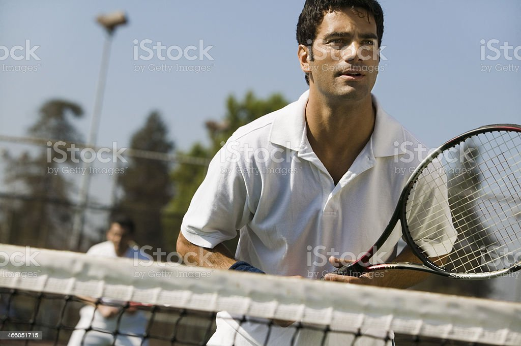 Tennis Players stock photo