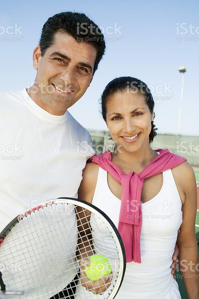 Tennis Players stock photo