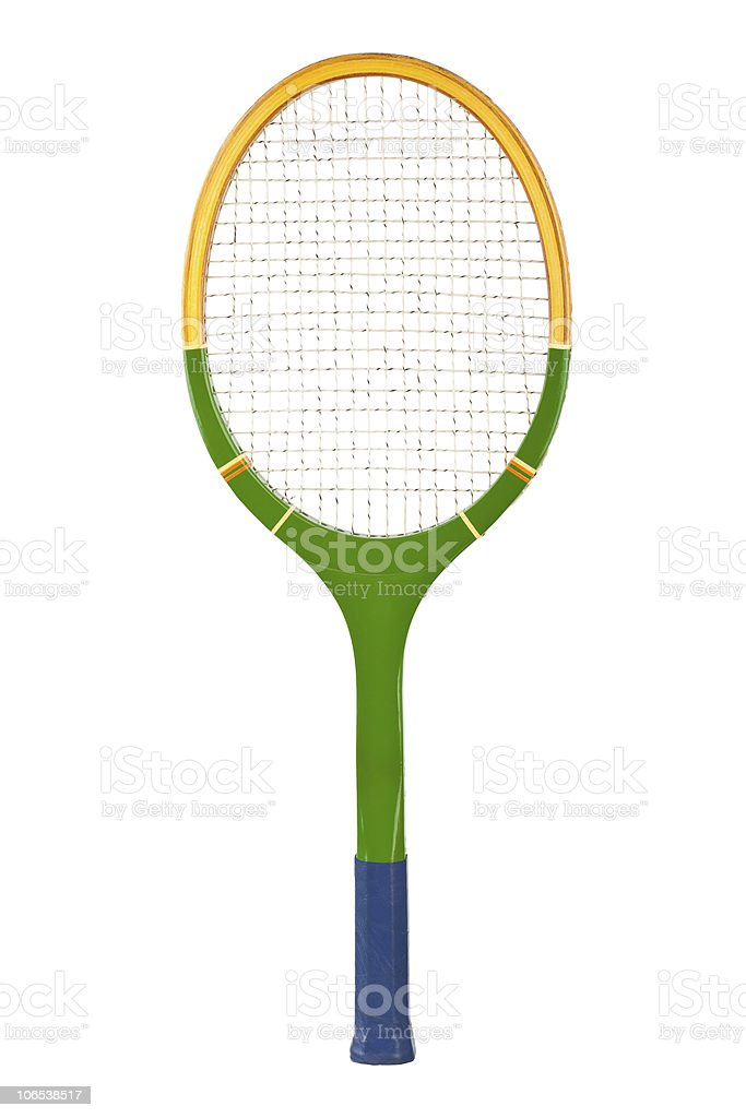 Tennis racket royalty-free stock photo