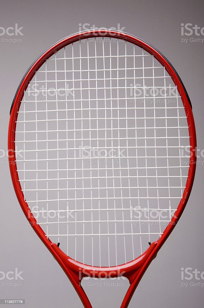 Tennis racket royalty-free stock photo