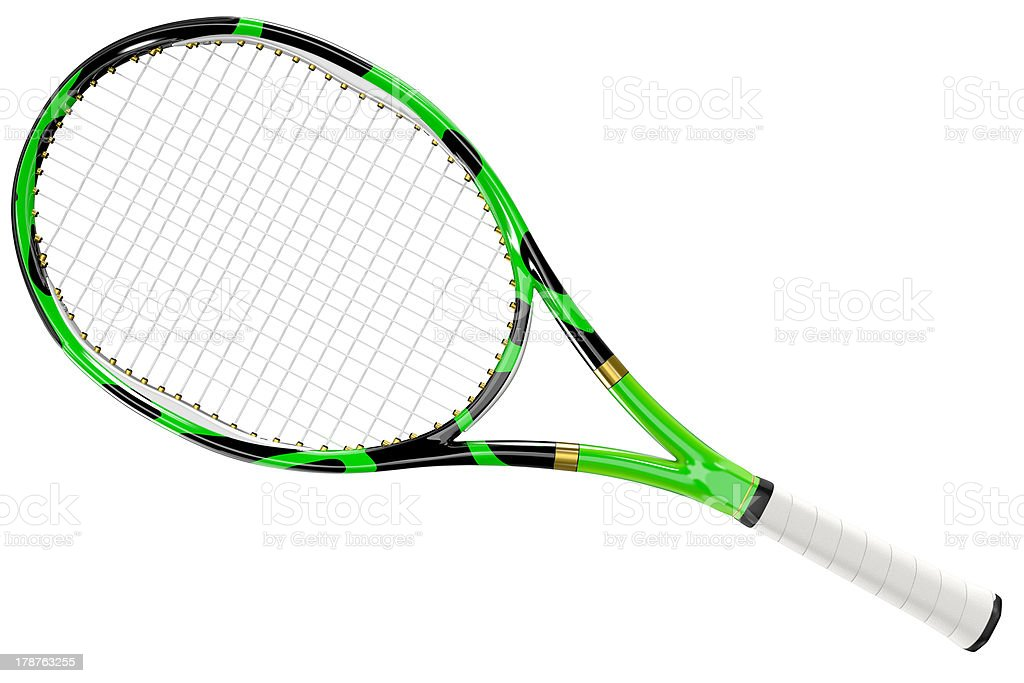 Tennis Racket Texture Style stock photo