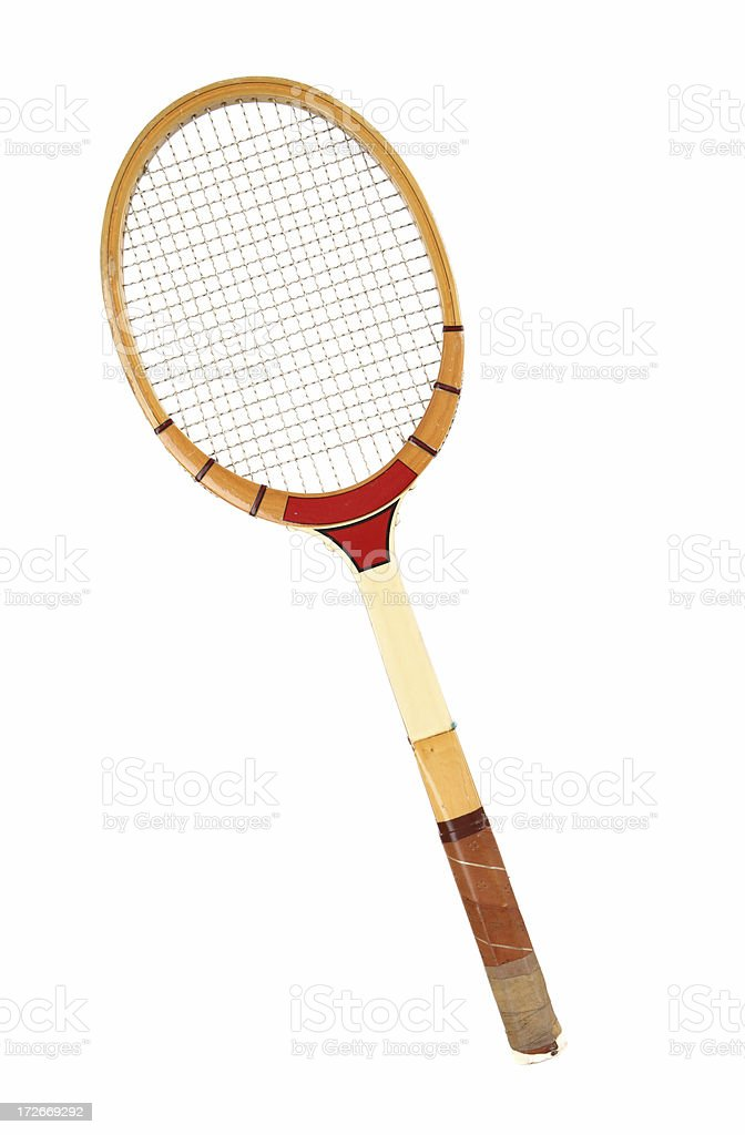 Tennis Racket - Vintage stock photo