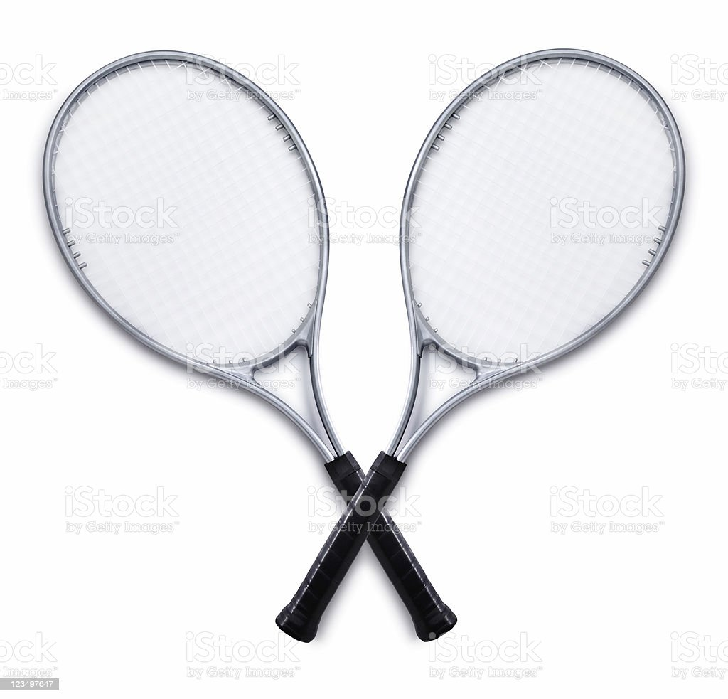 Tennis Rackets royalty-free stock photo