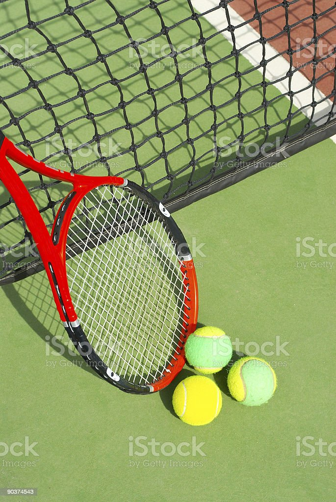 Tennis Series royalty-free stock photo