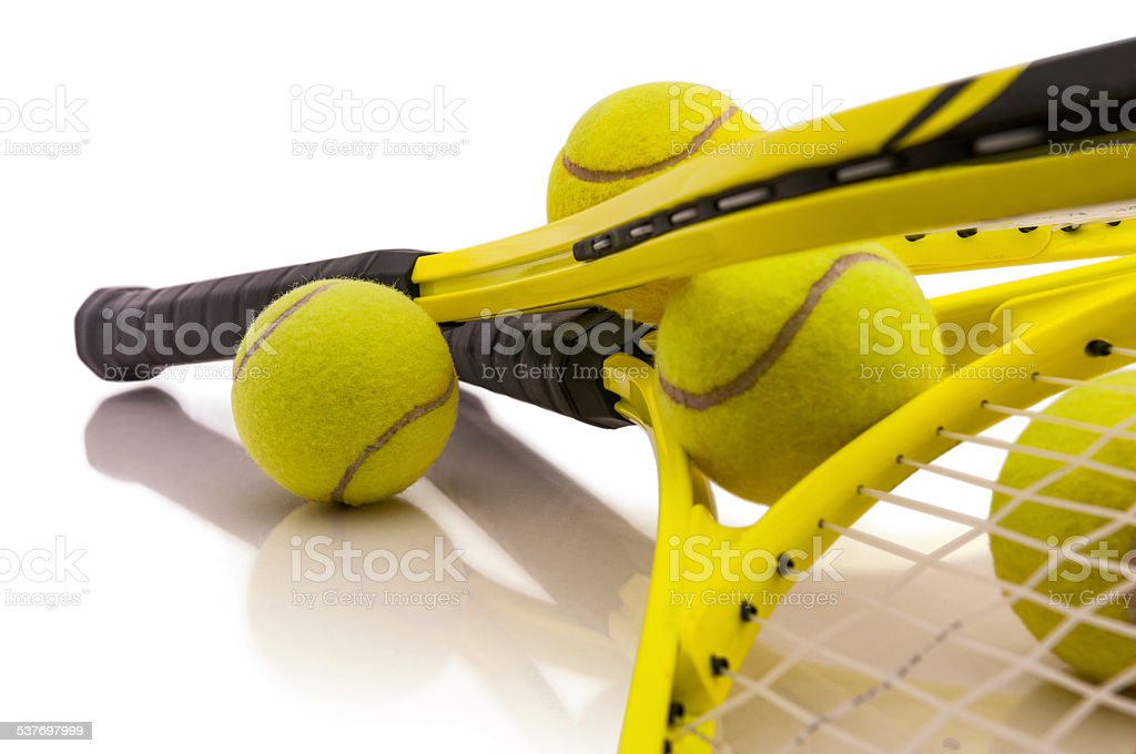 Tennis session stock photo