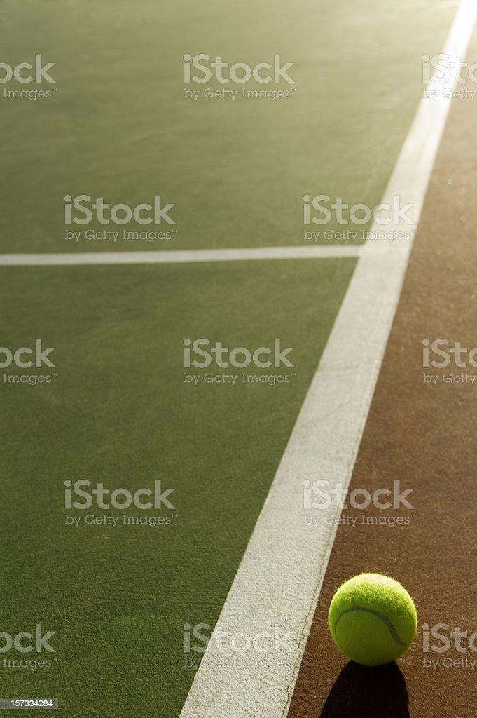 Tennis shine royalty-free stock photo