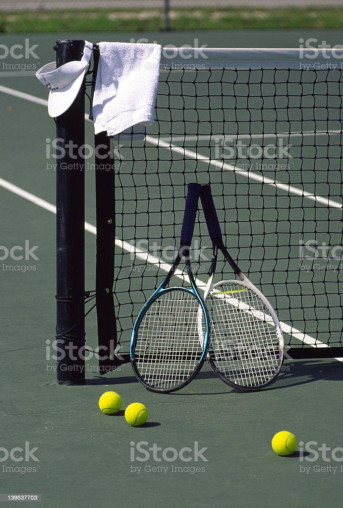 Tennis Still royalty-free stock photo