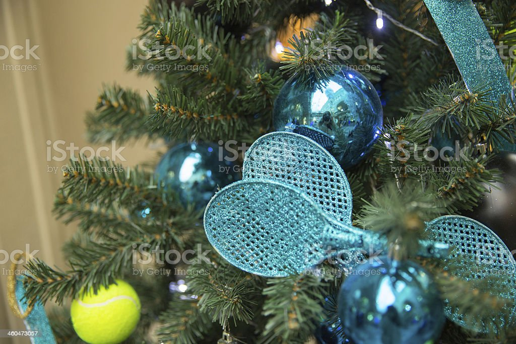 tennis tree royalty-free stock photo