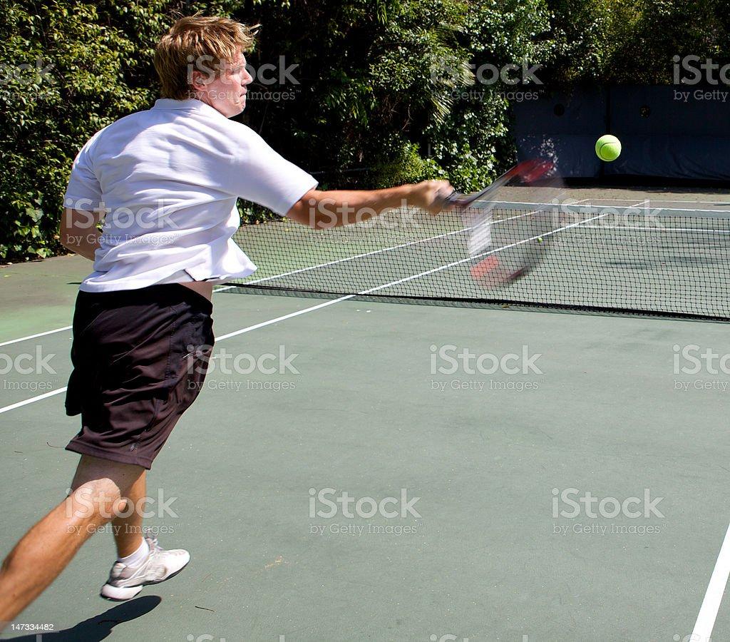 Tennis Winner royalty-free stock photo