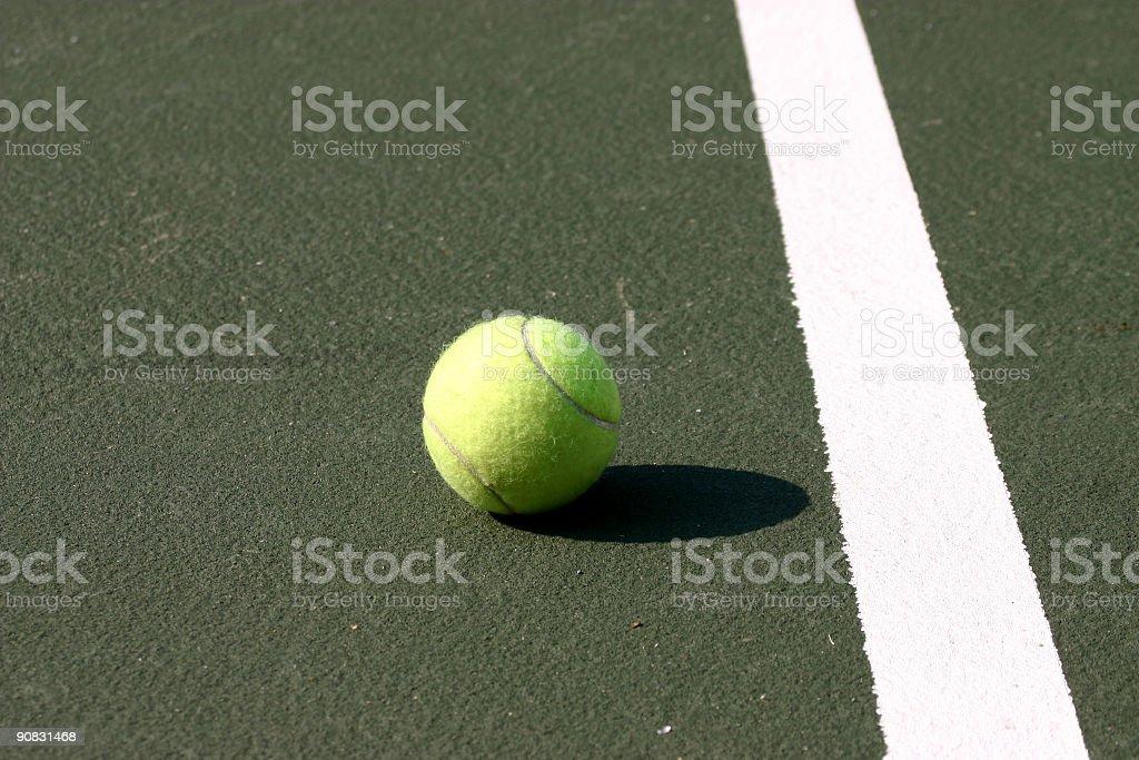 Tennisball royalty-free stock photo