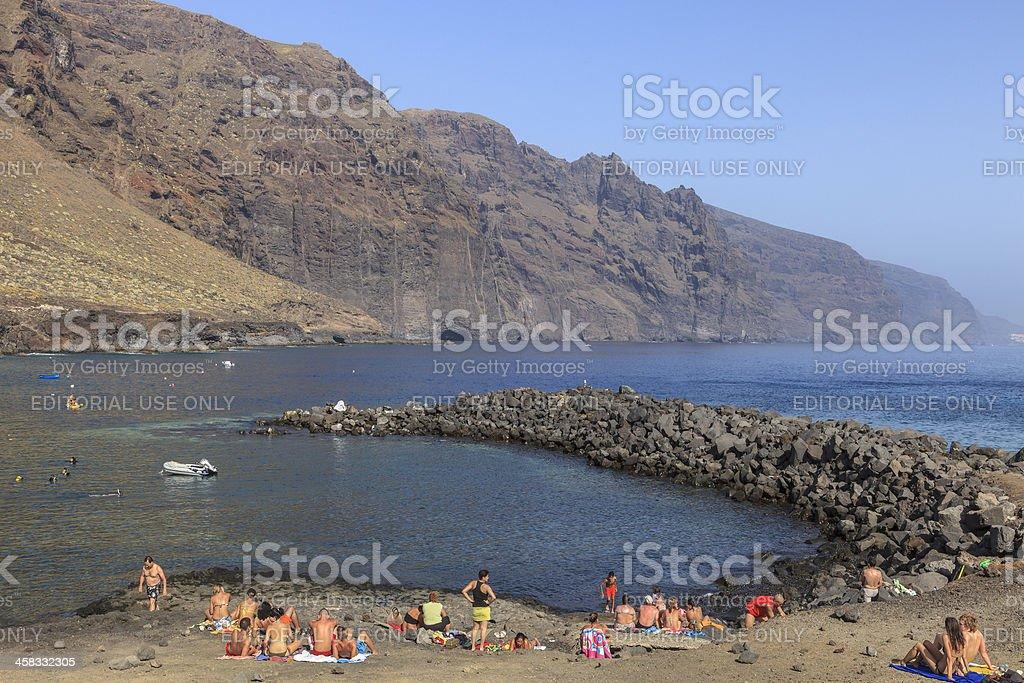 Teno Rural Park, Tenerife royalty-free stock photo