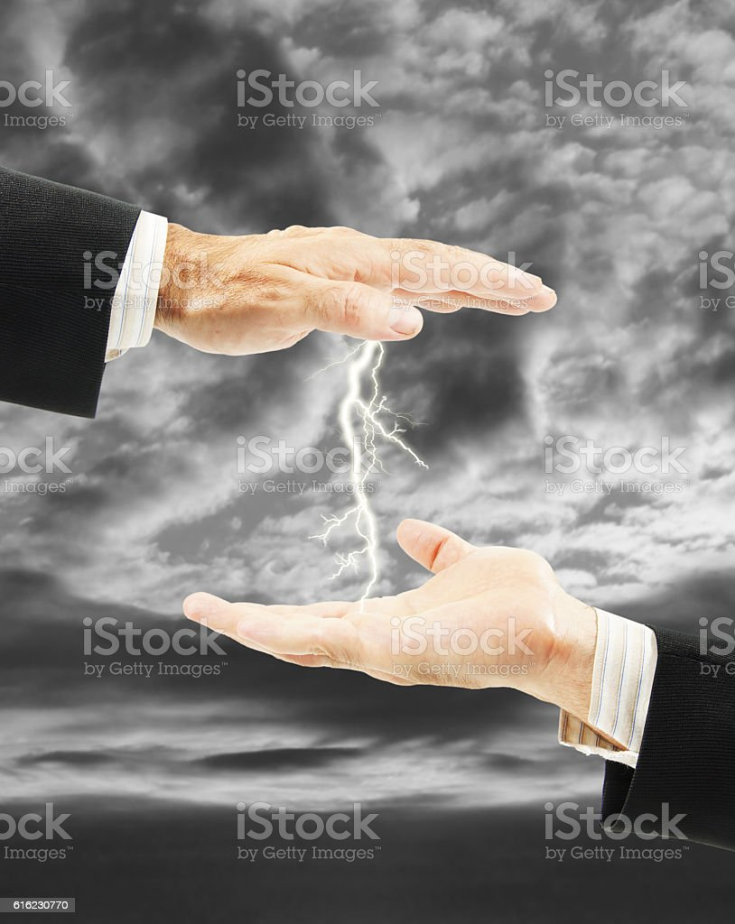 Tense relations and enmity between people. Concept of conflict stock photo