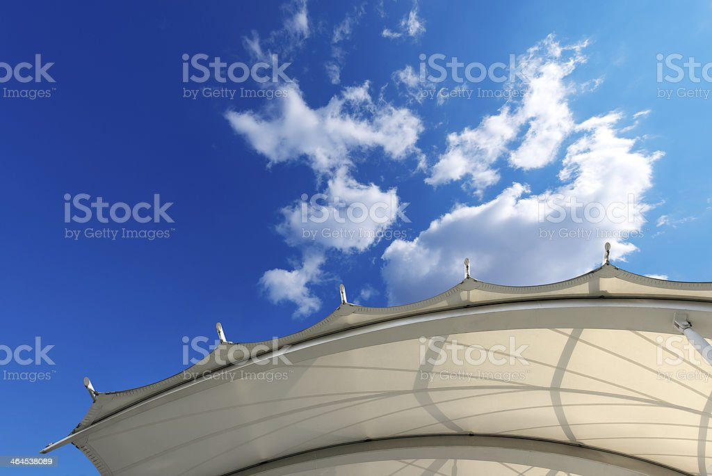 Tensile Structure stock photo