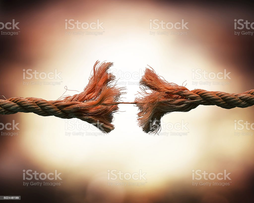 tension concept stock photo