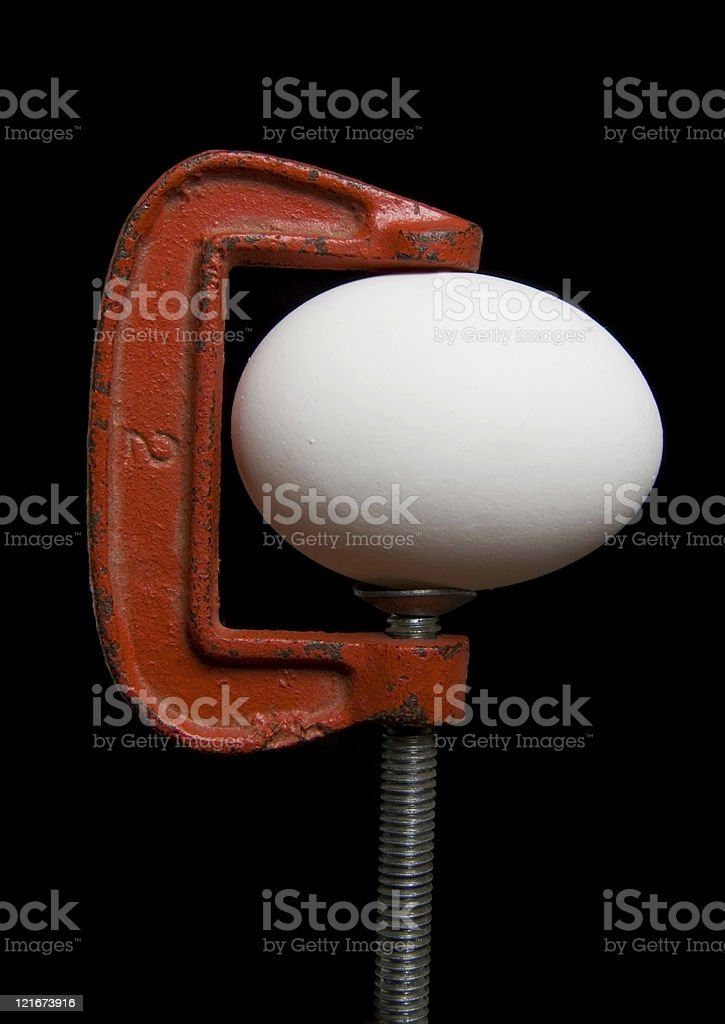 Tension royalty-free stock photo
