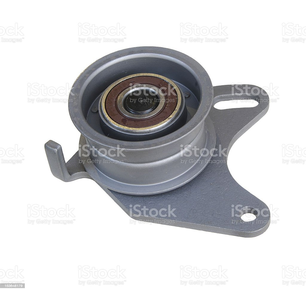 tension pulley royalty-free stock photo