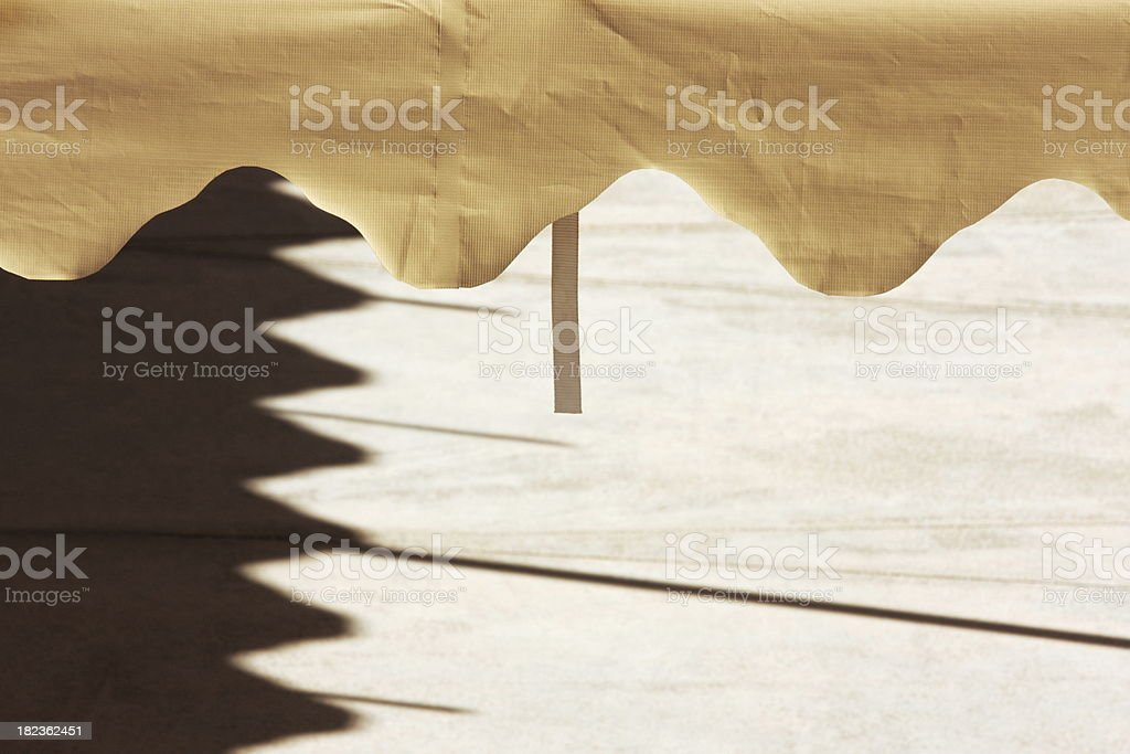 Tent Canopy Shadow Entertainment Event royalty-free stock photo