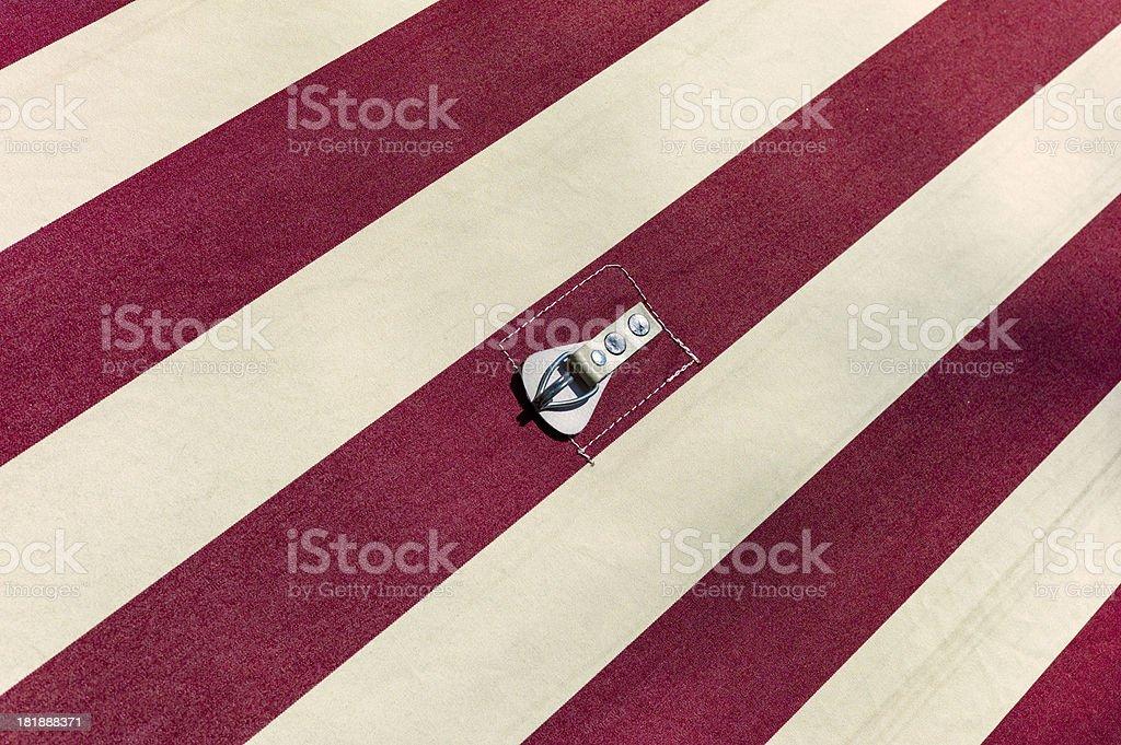 Tent Cloth royalty-free stock photo