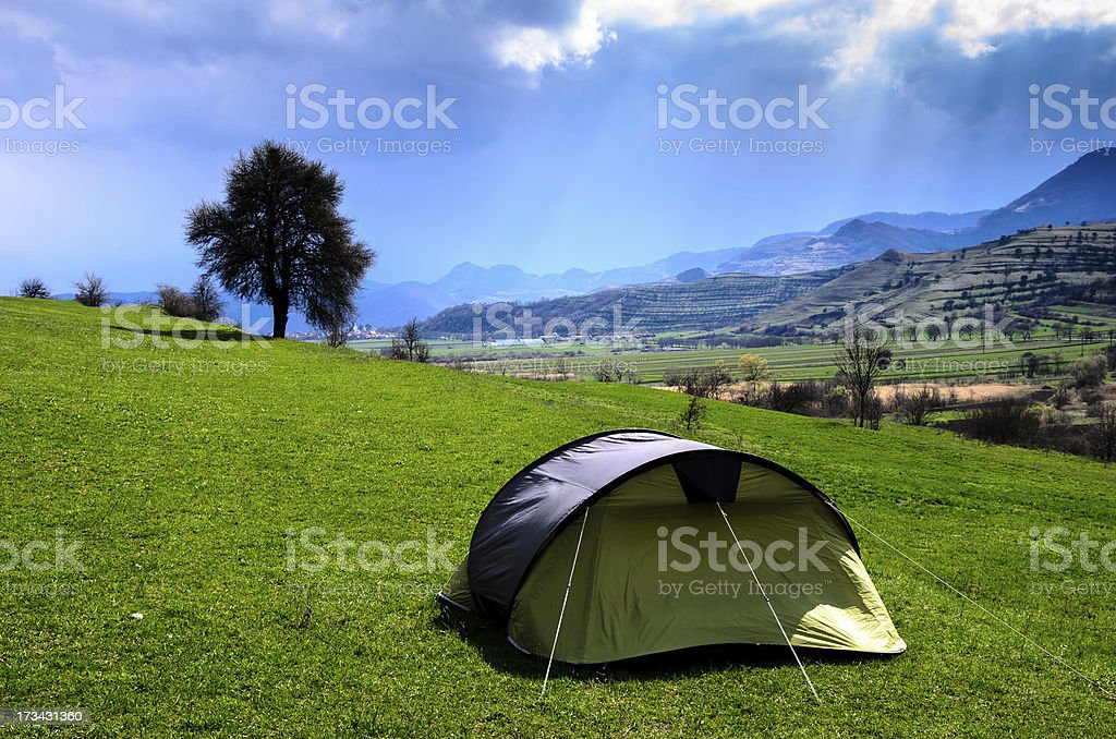 tent in heaven royalty-free stock photo