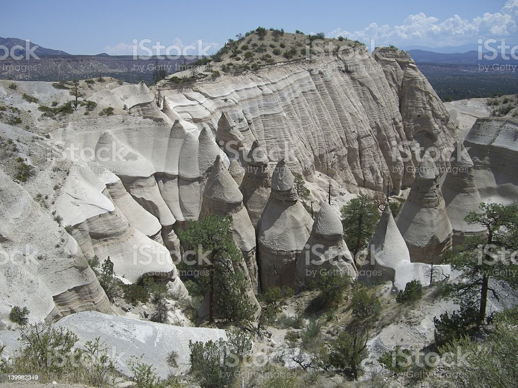 Tent Rocks National Park royalty-free stock photo