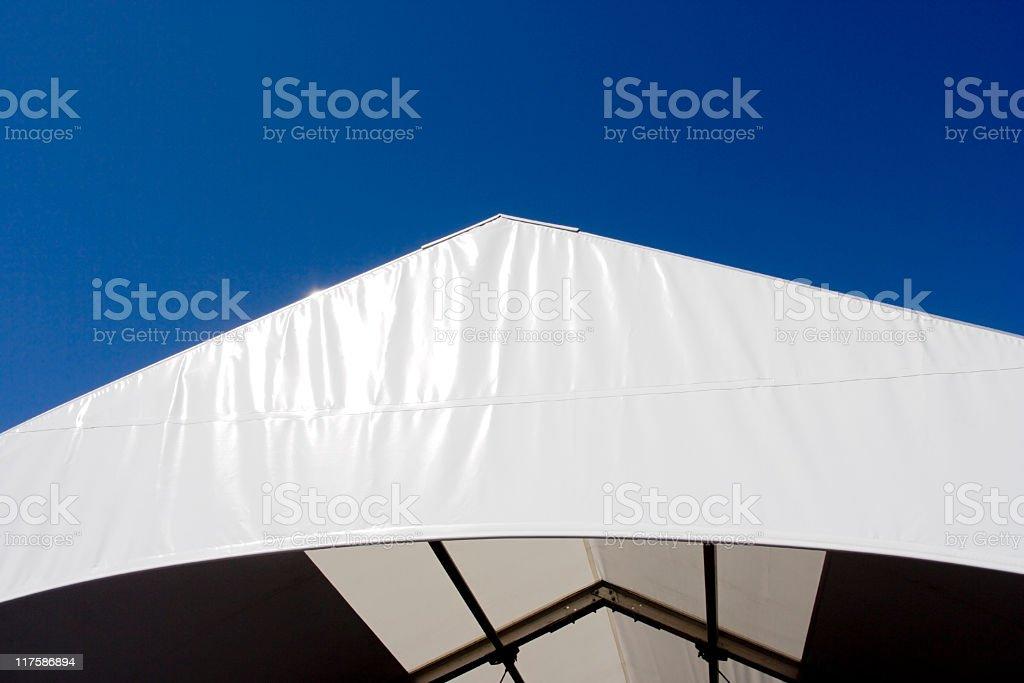 Tent Top stock photo