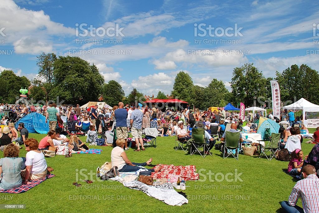 Tentertainment music festival, England stock photo