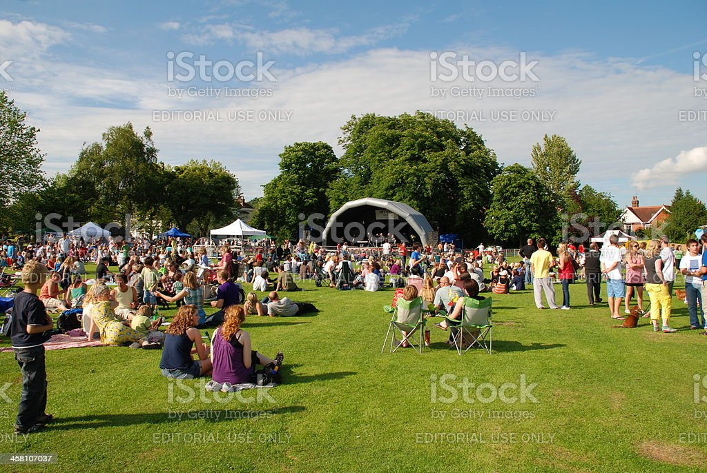 Tentertainment music festival, England royalty-free stock photo