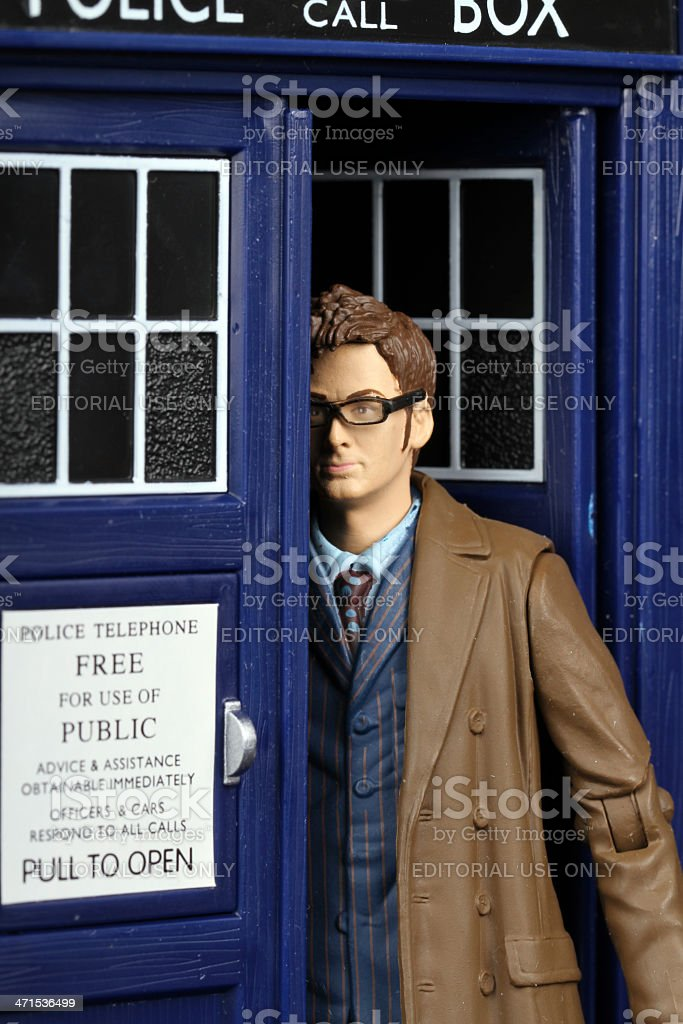 Tenth Doctor stock photo