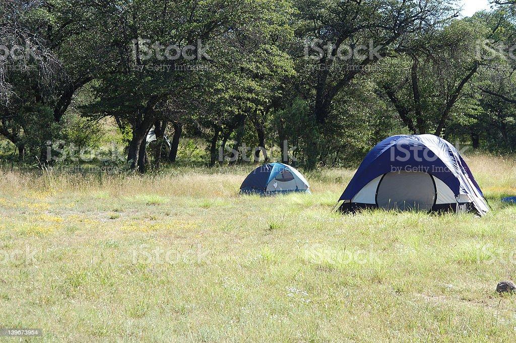 Tents royalty-free stock photo