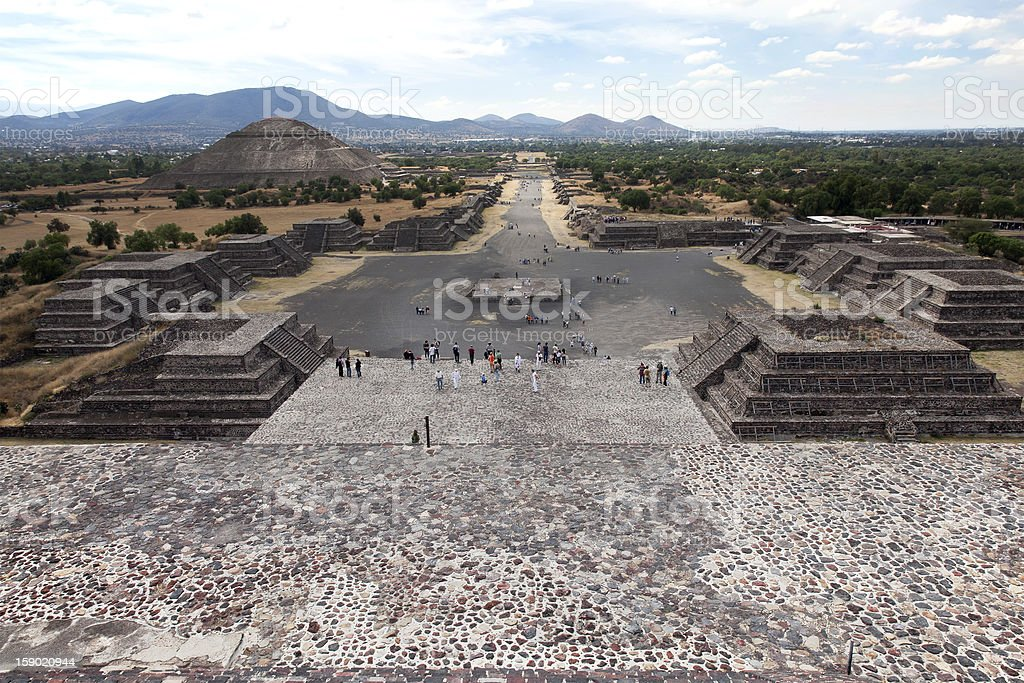 Teotihuacan, Mexico royalty-free stock photo