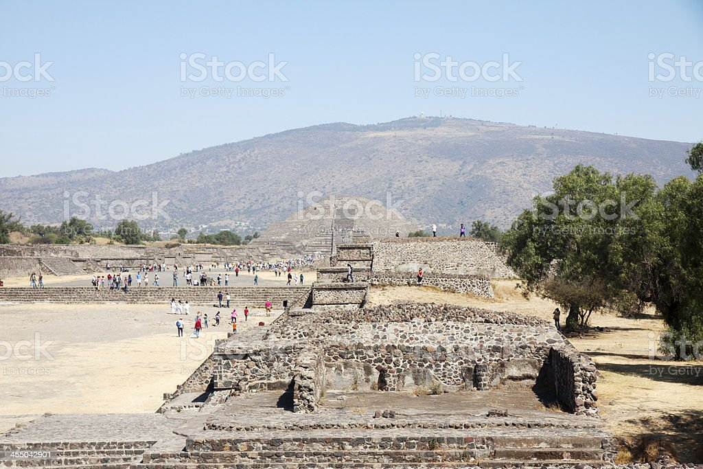 Teotihuacan – Mexico. stock photo