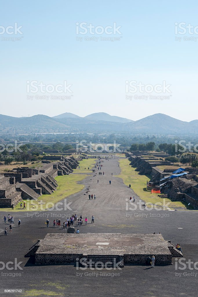 Teotihuacan, Mexico stock photo