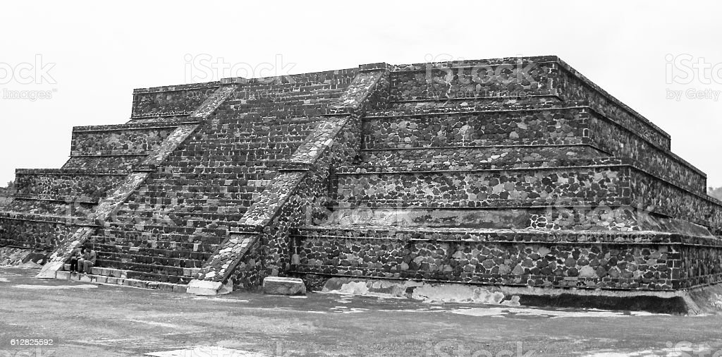 Teotihuacan. Mexico stock photo