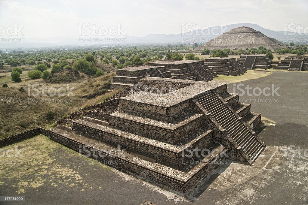 Teotihuacan. royalty-free stock photo