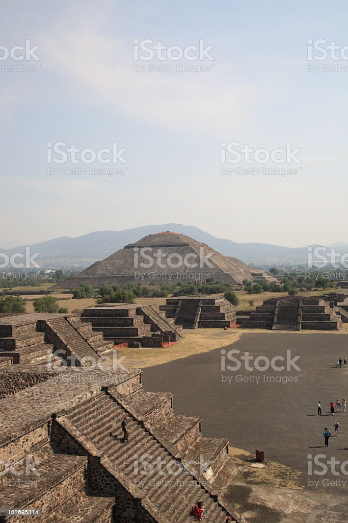 Teotihuacan stock photo