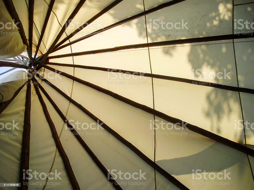 Tepee stock photo