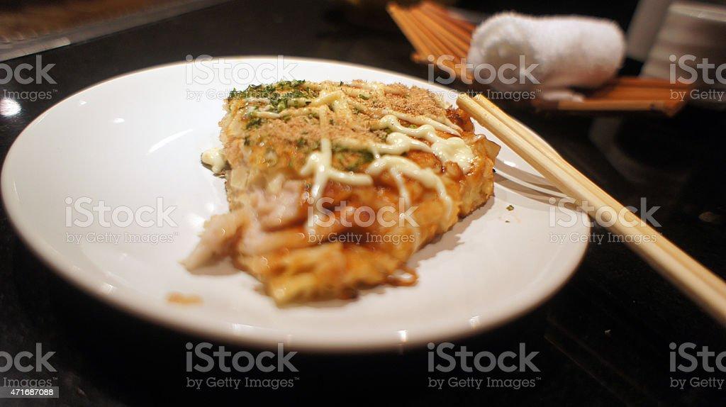 DIY Teppanyaki and Okonomiyaki stock photo