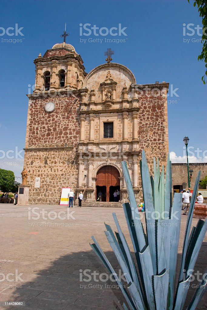 Tequila Cathedral stock photo