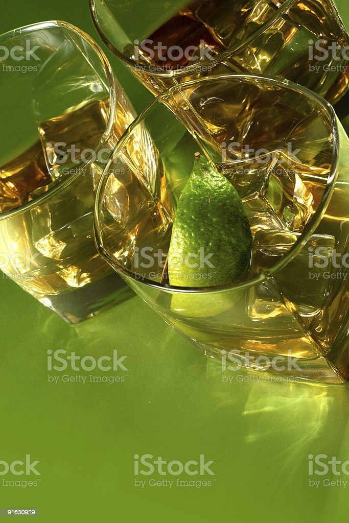 Tequila or Whiskey stock photo