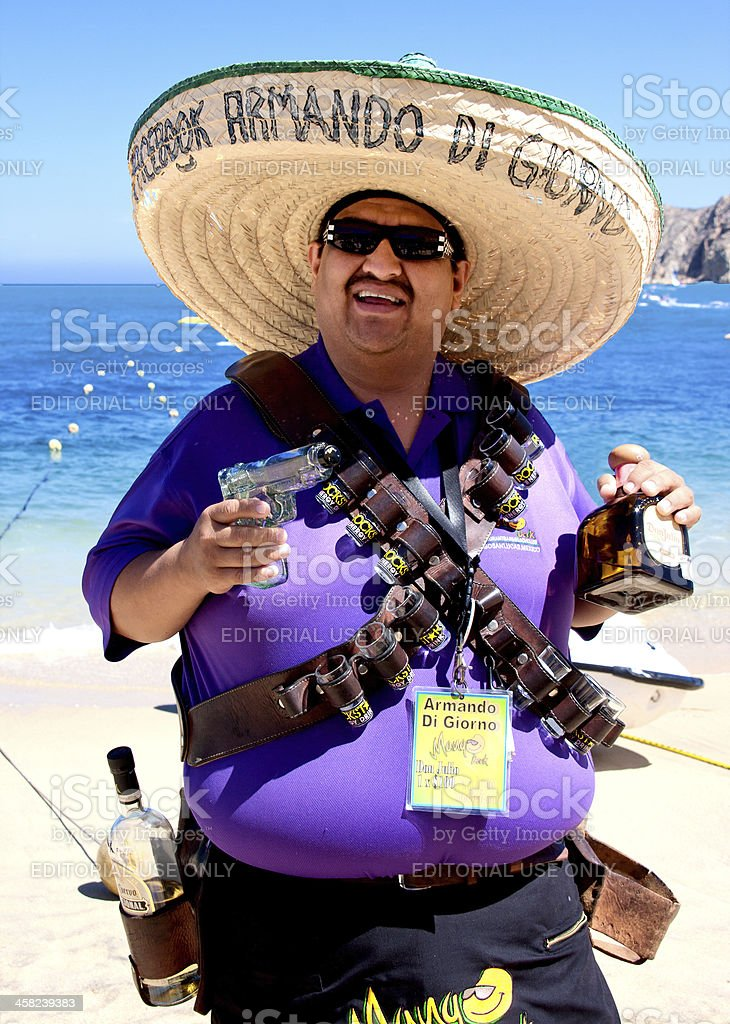 Tequila Shooter stock photo