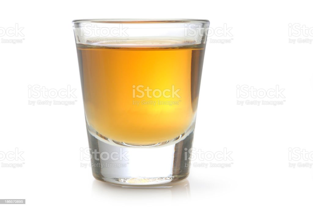 Tequila Shot stock photo