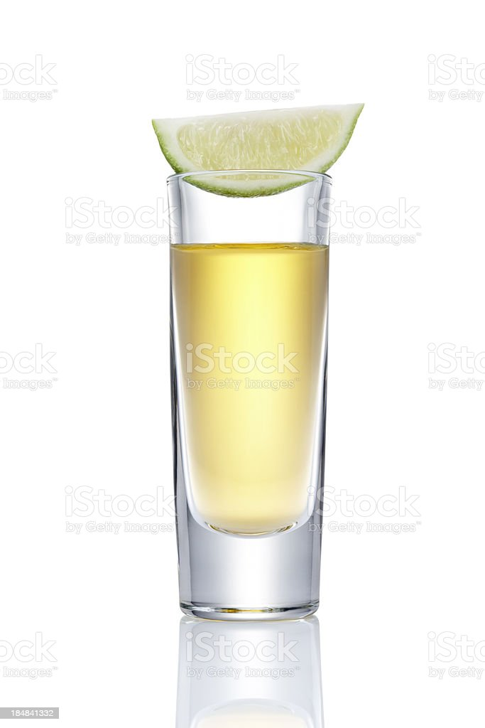 tequila slammer royalty-free stock photo