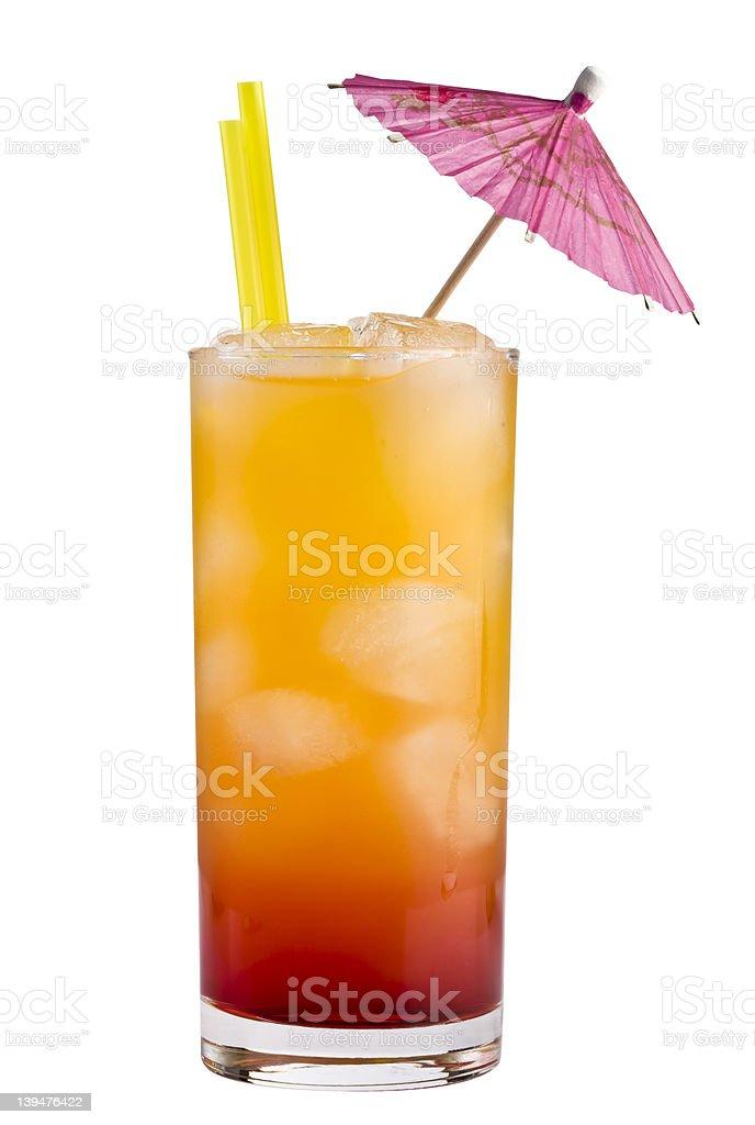 Tequila sunrise stock photo