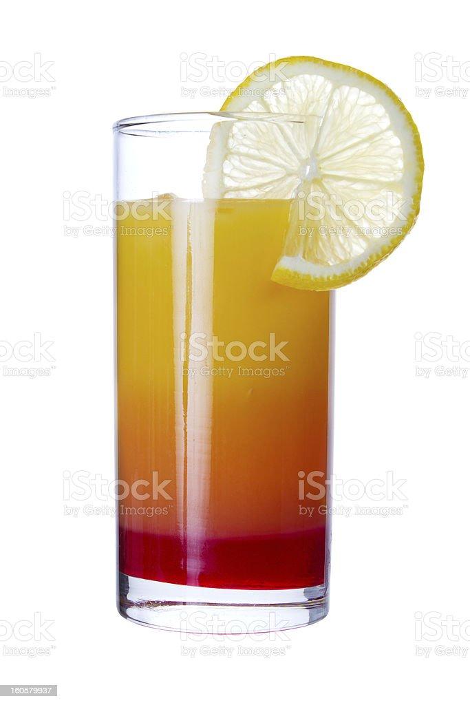 Tequila Sunrise royalty-free stock photo