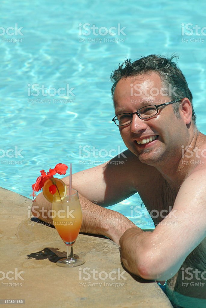 Tequila Sunshine In The Tropics royalty-free stock photo