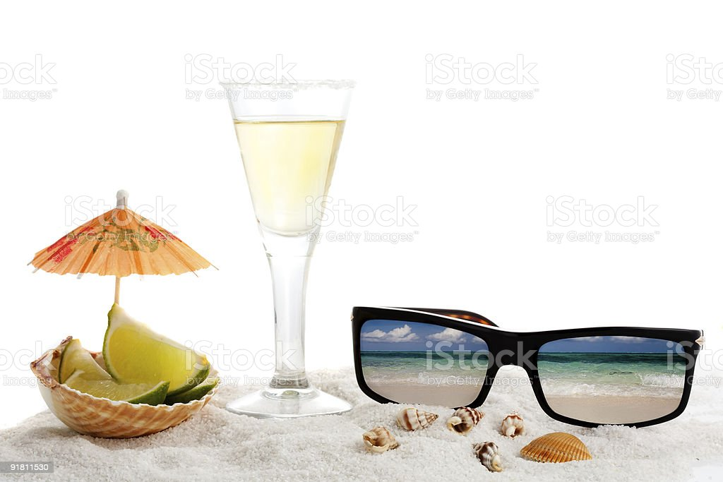 Tequila Tropics royalty-free stock photo
