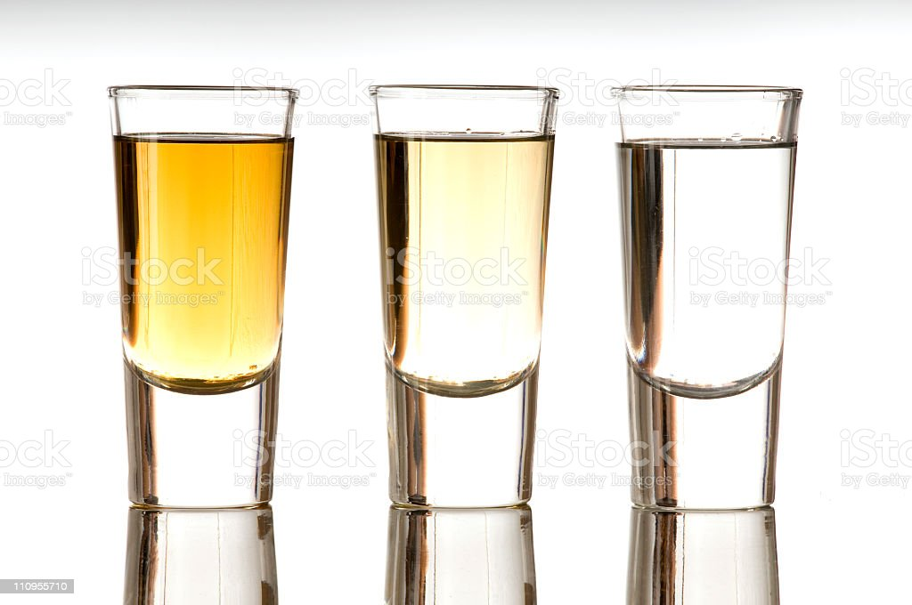 Tequilas shot´s royalty-free stock photo