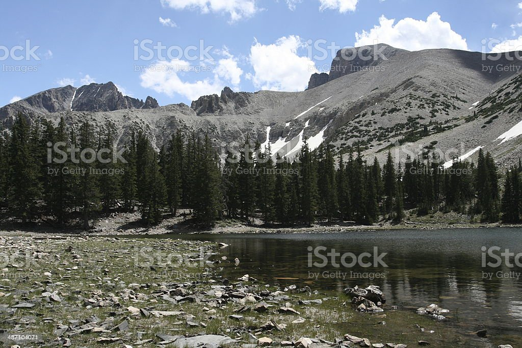 Teresa Lake, Great Basin National Park, Nevada stock photo